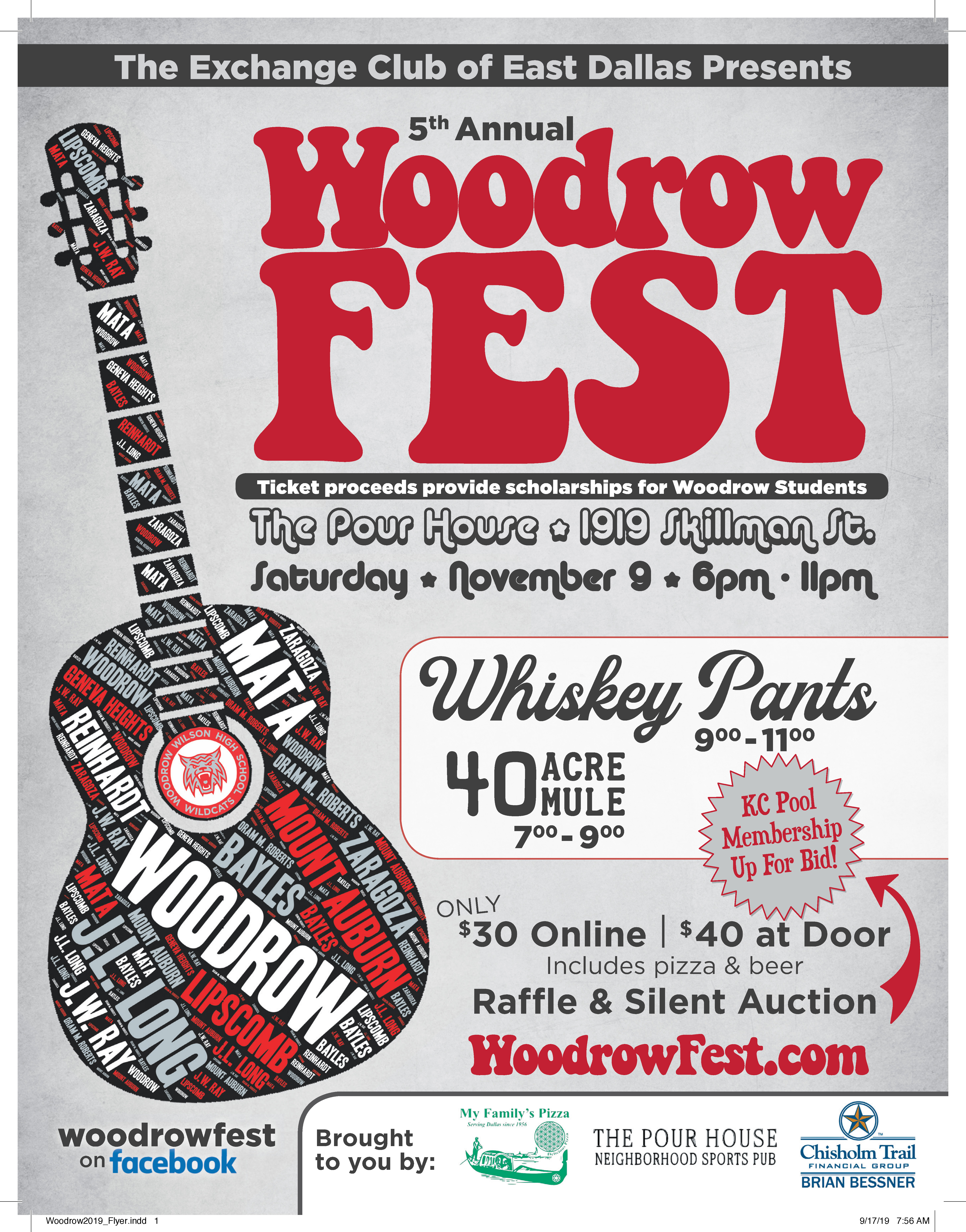 Benefitting Woodrow Wilson High